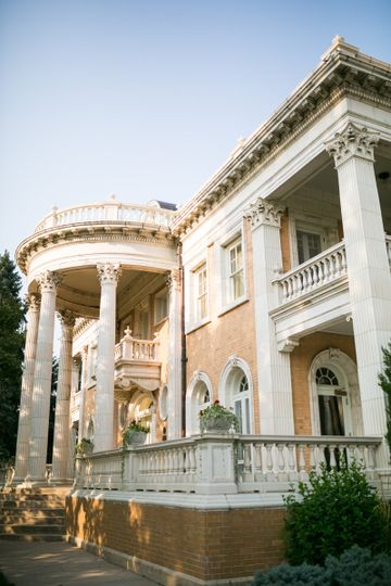 Exterior view of Grant Humphreys Mansion