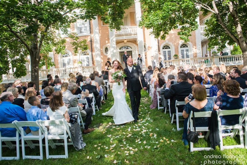 Gorgeous outdoor ceremonies in the park