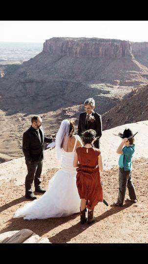 Moab wedding