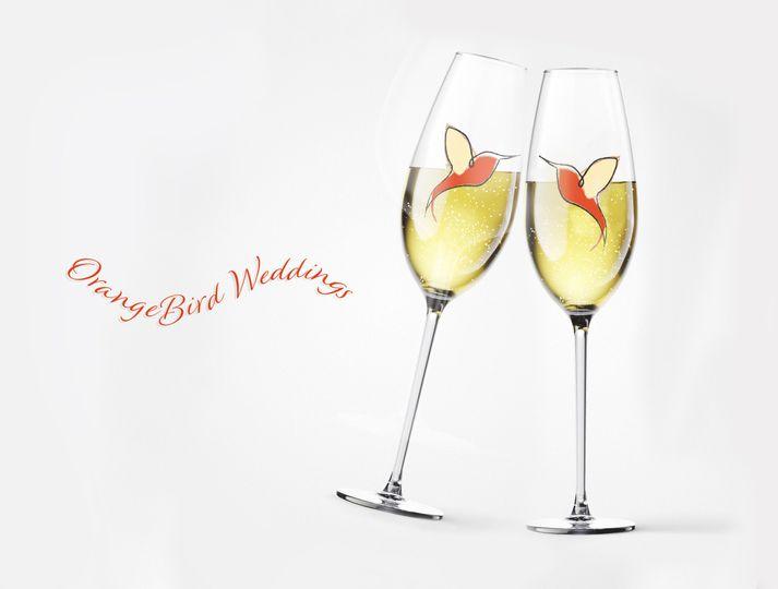 orangebird kissing champagne 51 1979767 160153040153810