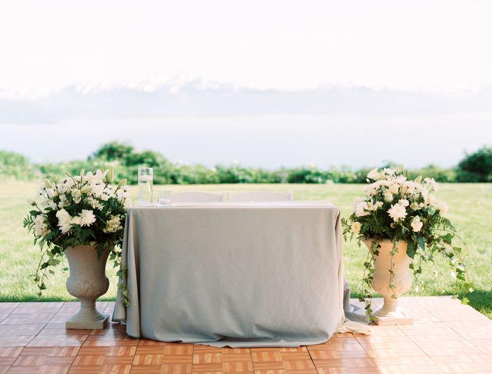 Homer wedding, decor