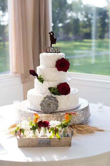 wedding cake wedding cloud design