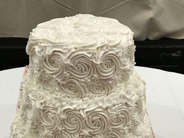 Tmx 1518474926 Fb877f64b8349b9e 1518474923 E7b5fb807701b9a4 1518474915262 2 Rose Swirl Design Toledo wedding cake