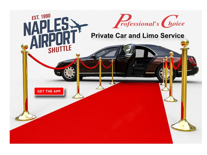 Naples Airport Shuttle. Private Car and Limo Service.