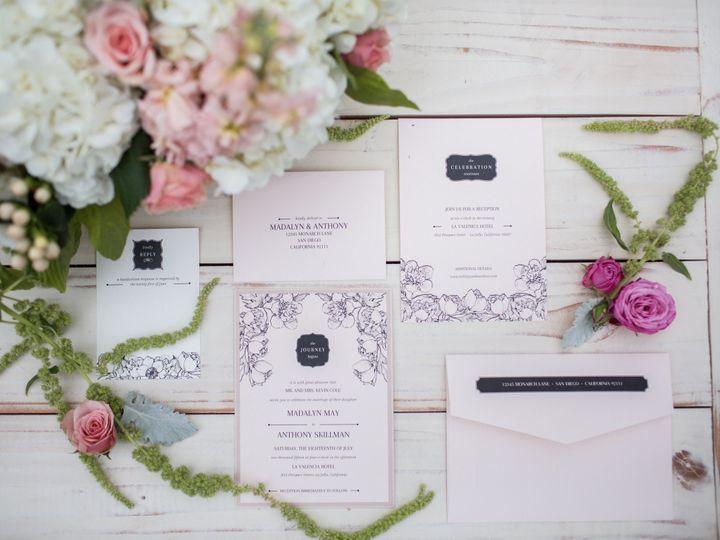 Tmx 1452543781811 Jessica Van Photography 127 San Diego, CA wedding invitation