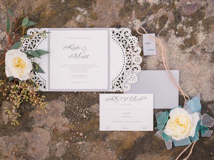 Tmx 1459482847595 Reneehollingsheadphotographylajollaeditorial 3 San Diego, CA wedding invitation