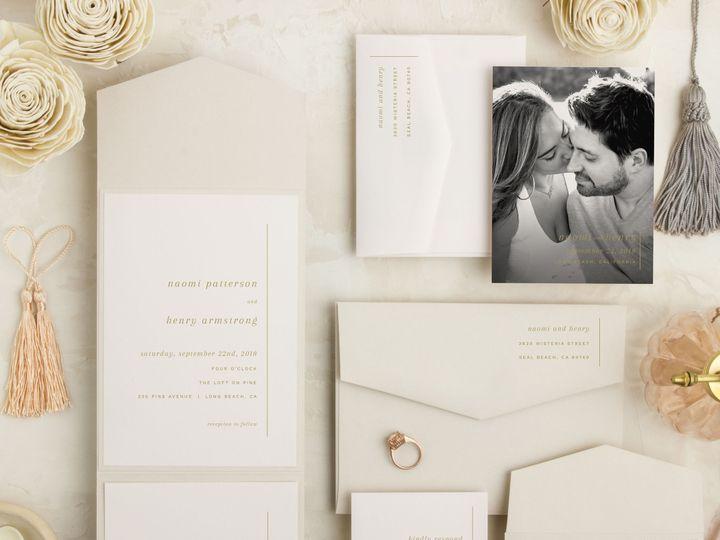 Tmx 1539206205 13e3b154e0b83069 1539206203 18652b6ec952f141 1539206201600 3 Always Elegant Sma San Diego, CA wedding invitation
