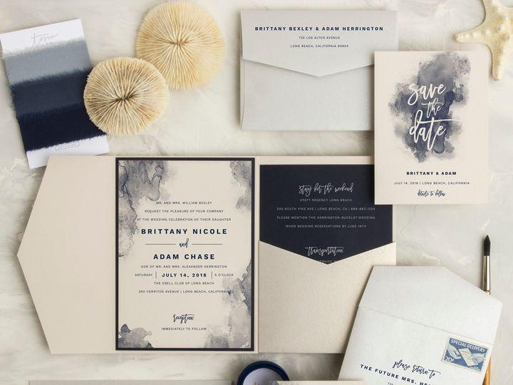Tmx Aquarelle Small 51 583867 1561156392 San Diego, CA wedding invitation