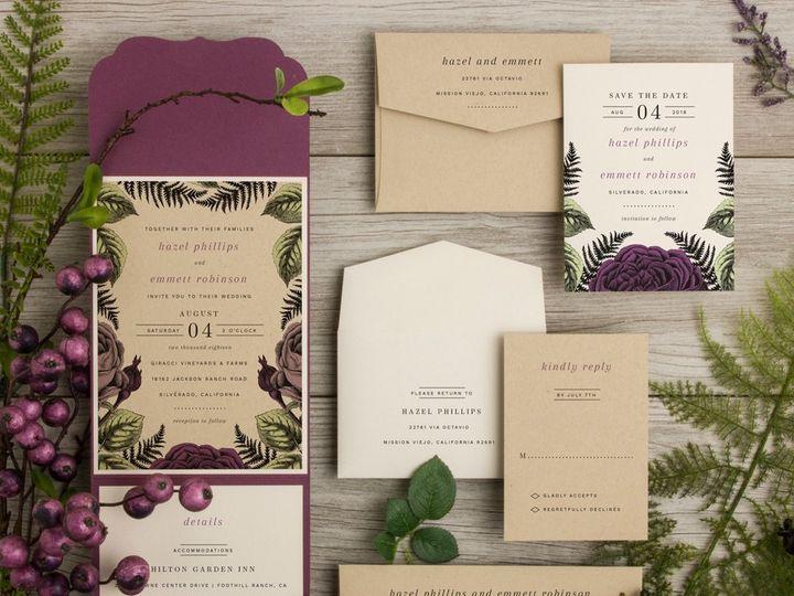 Tmx Fernville Small 51 583867 1561156233 San Diego, CA wedding invitation