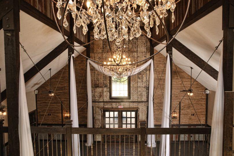 Inside Wedding Barn