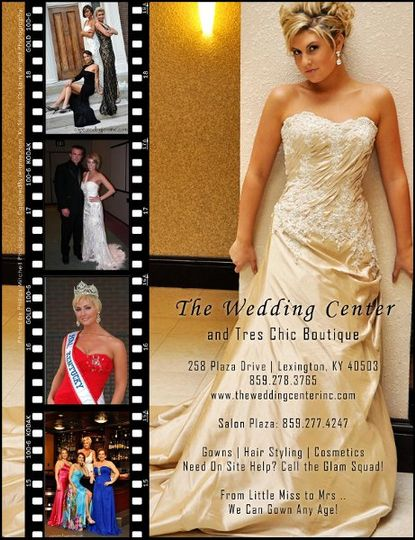 The Wedding Center Inc, Tres Chic Boutique and Salon Plaza