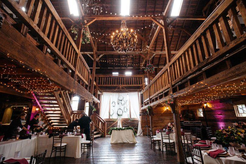 Barn reception space | PNW | Auburn | Wedding