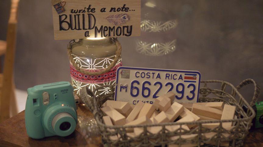 Write a note, build a memory