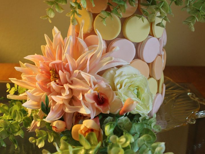 Tmx 1437093871662 Parisian Macaron Tower Oviedo wedding cake