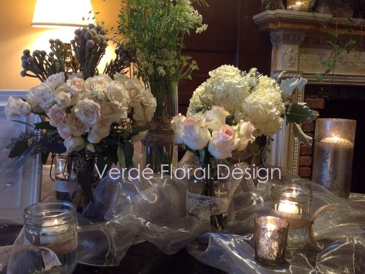 Tmx 1515681645 77c83133d092b7a6 1515681643 9472cb4ced7058d0 1515681622398 40 Mason Jars Vinget Franklin Lakes, NJ wedding florist