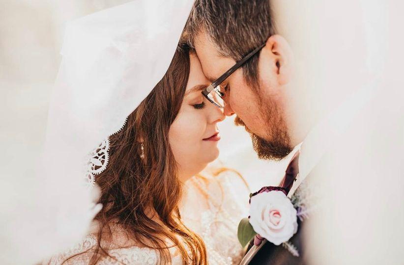 Classic & Natural Bridal look
