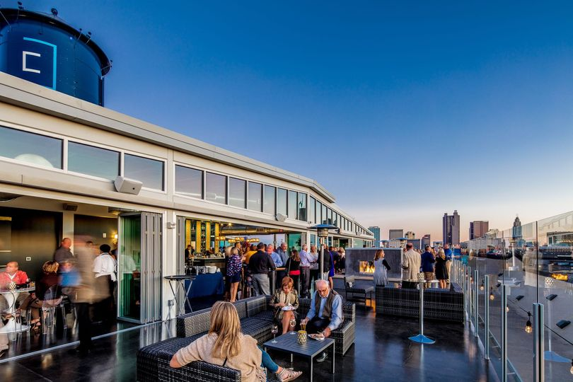 Revery's rooftop patio