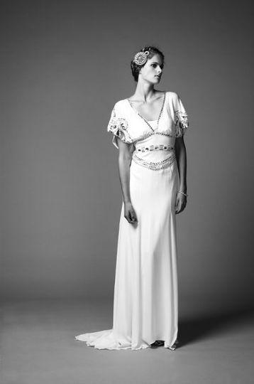 Monaco Long Jean Dress