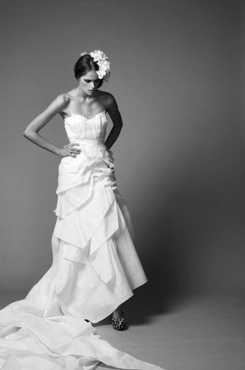 Maya Long Argent Dress