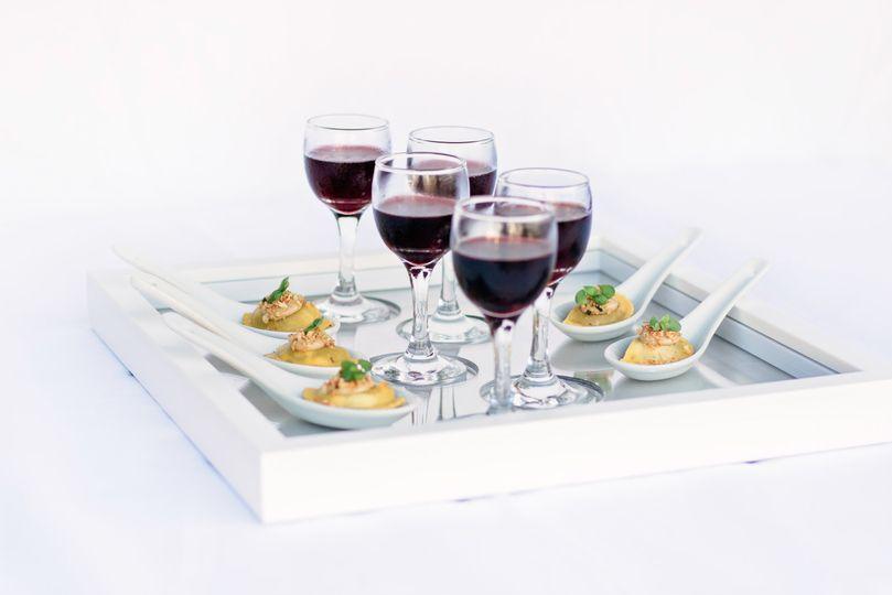 Mushroom ravioli & port wine