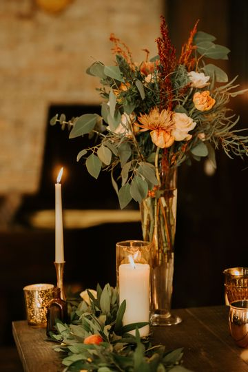 Centerpiece | Photo: AbbeyElainePhotography