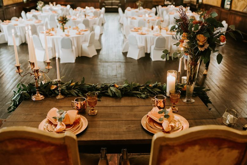 View from the table | Photo: AbbeyELainePhotography
