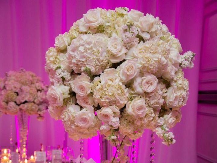 Tmx Blush Centerpiece 51 1038867 East Orange, NJ wedding florist