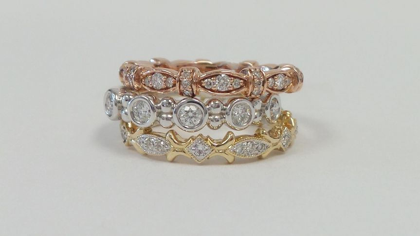 wedding bands stackable 002