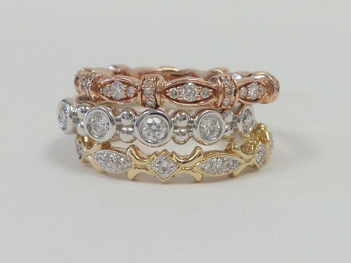 Tmx 1474916259967 Wedding Bands Stackable 002 Evansville wedding jewelry