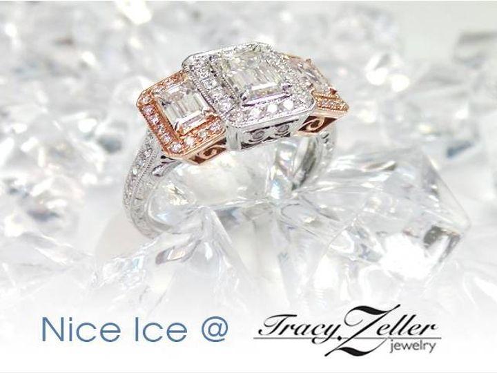Tmx 1474917335947 Nice Ice Rose Gold Evansville wedding jewelry