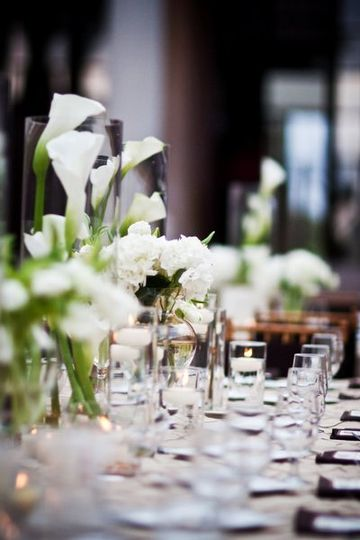 Beautiful Head table in white.....