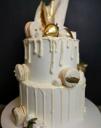 Dripping icing