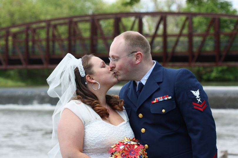 Erie Canal side wedding