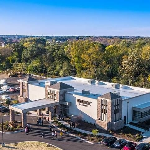 Avante Banquets & Conference Center aerial view