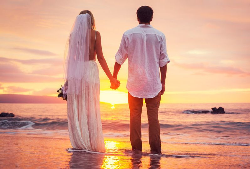 eb43dfb89765cec6 Beach Wedding