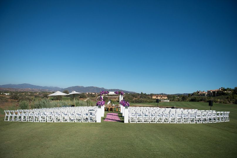 baxtermar golf course ceremony
