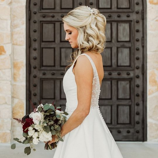 Dallas Wedding Makeup and Hair
