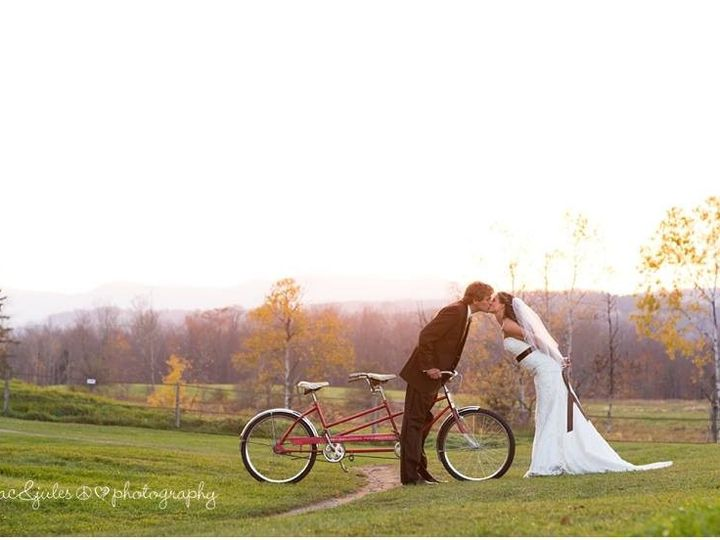 Tmx 1477245897511 Amber And Dave Bike Kiss East Burke, VT wedding venue
