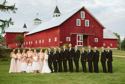 Tmx 1477249176459 Bridal Party Pose2 East Burke, VT wedding venue