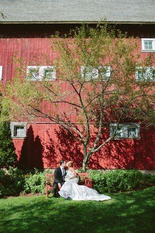 Tmx 1477249187759 Bride And Groom Garden Bench2 East Burke, VT wedding venue