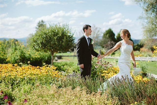 Tmx 1477249193543 Bride And Groom Garden2 East Burke, VT wedding venue