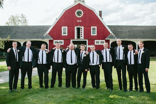 Tmx 1477249388276 Groomsmen Infront Of Sanctuary2 East Burke, VT wedding venue