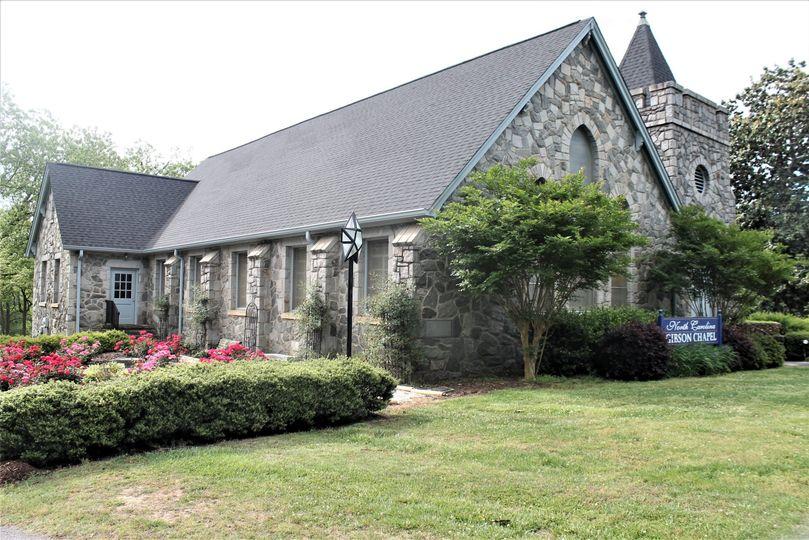 Chapel's Rose garden