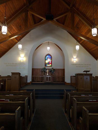 Front Chapel alter