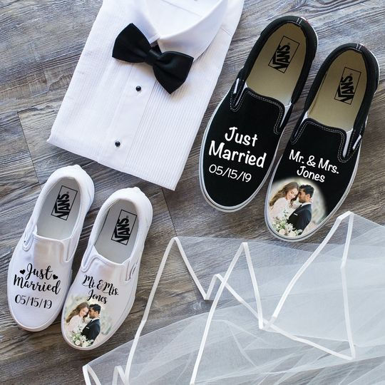 Shoes with custom images