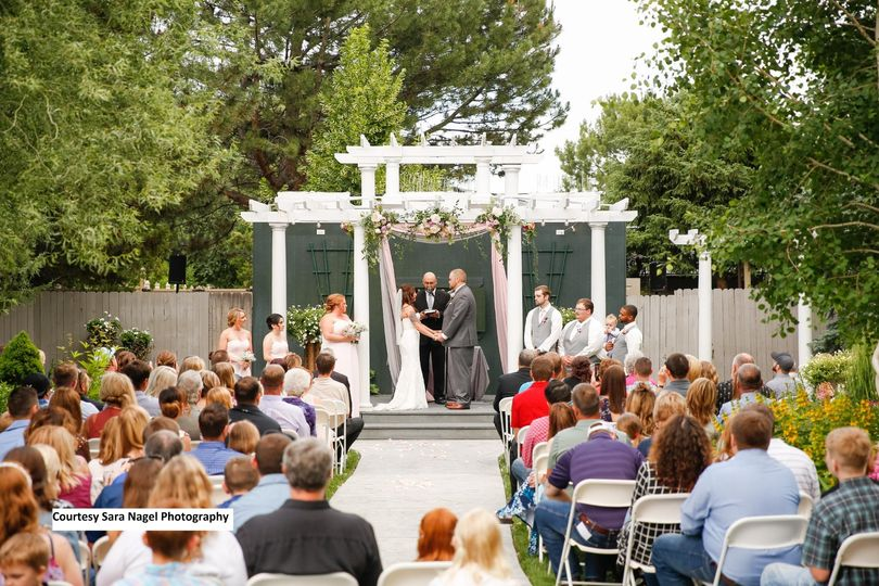 Our ceremony garden