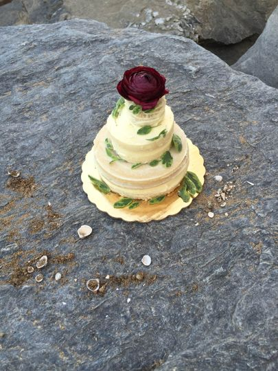lemon sage cake