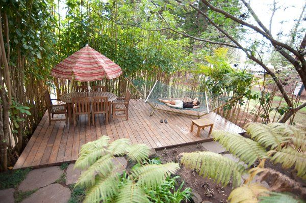 Private deck for Rm. 11 (Cottage)
