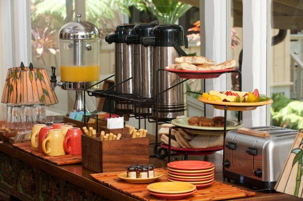 Complimentary continental breakfast.