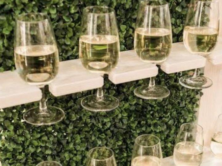 Tmx Wine Glass Wall 51 1905967 160220977938300 Whippany, NJ wedding catering